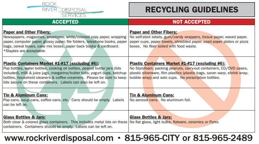 south beloit garbage collection