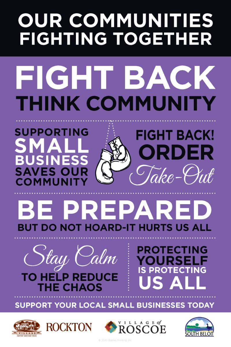 Coronavirus Community Poster